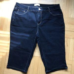 d. Jeans stretch Capris 20W